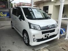 沖縄の中古車 ダイハツ ムーヴ 車両価格 74万円 リ済込 平成25年 4.7万K パール