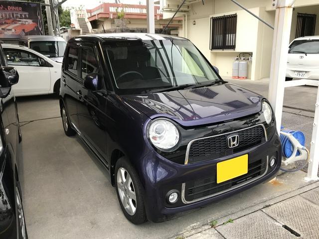 沖縄の中古車 ホンダ N-ONE 車両価格 67万円 リ済込 2012(平成24)年 5.5万km ダークパープル