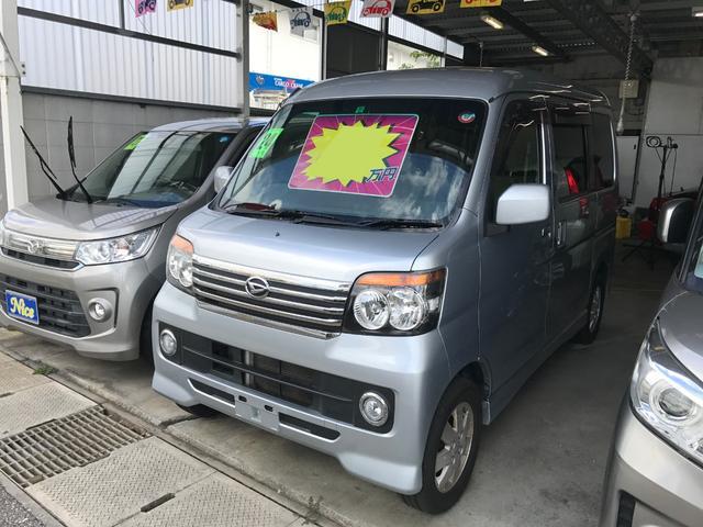 沖縄の中古車 ダイハツ アトレーワゴン 車両価格 67万円 リ済込 2012(平成24)年 7.4万km ブライトシルバーメタリック