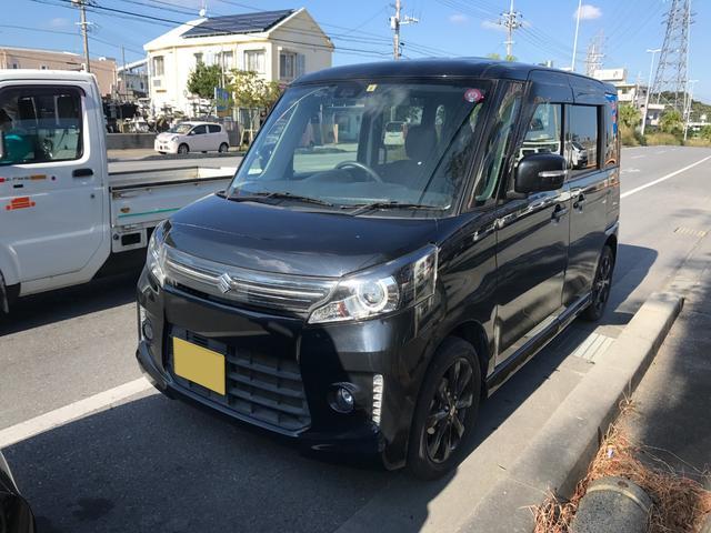 沖縄県沖縄市の中古車ならスペーシアカスタム XSリミテッド ナビ