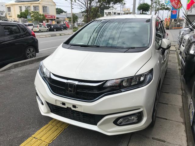沖縄県の中古車ならフィットハイブリッド Fパッケージ TVナビ