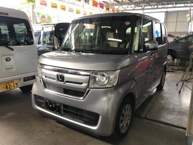 沖縄県の中古車ならN-BOX G・Lホンダセンシング ナビTV