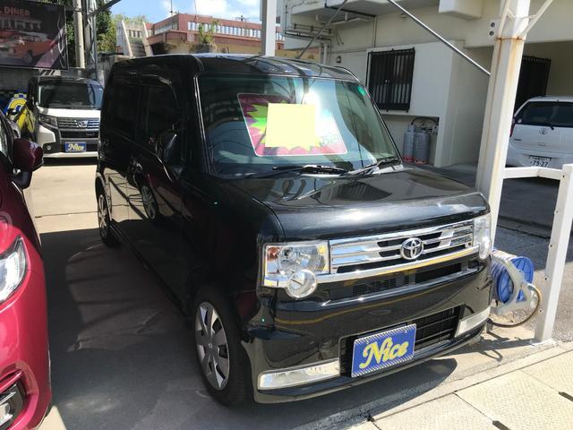 沖縄県の中古車ならピクシススペース カスタム X ワンオーナー ナビTV