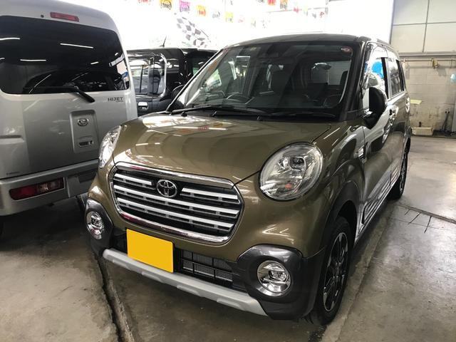 沖縄の中古車 トヨタ ピクシスジョイ 車両価格 126万円 リ済込 2019(令和1)年 0.6万km グリーン