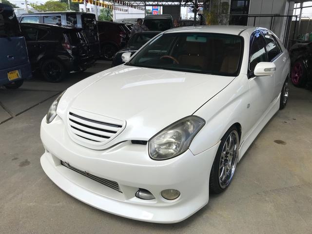 沖縄県の中古車ならヴェロッサ VR25 ターボ フォーチュナ ヤマハパワー 新品MT5速変更