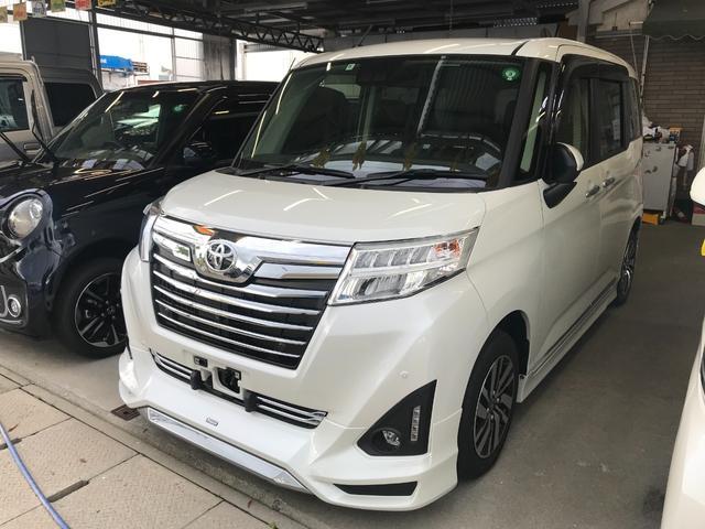 沖縄の中古車 トヨタ ルーミー 車両価格 179万円 リ済込 2020(令和2)年 0.7万km パール