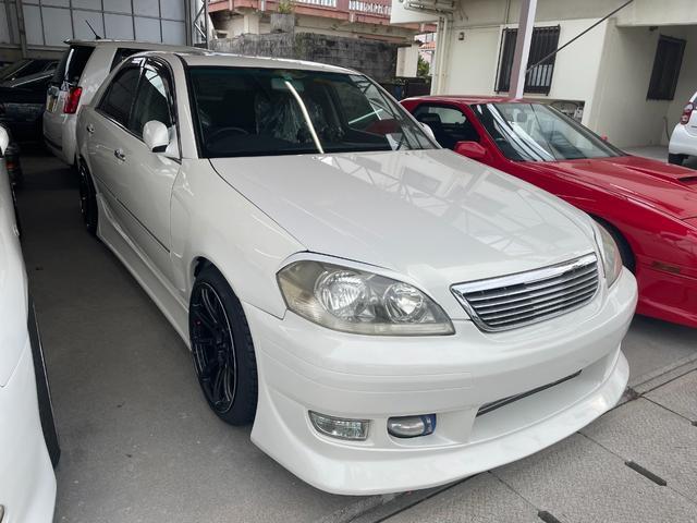 沖縄の中古車 トヨタ マークII 車両価格 239万円 リ済込 2003(平成15)年 走不明 パール