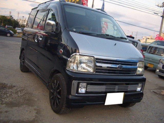 沖縄の中古車 ダイハツ アトレー 車両価格 21万円 リ済込 平成11年 12.4万km ブラックM