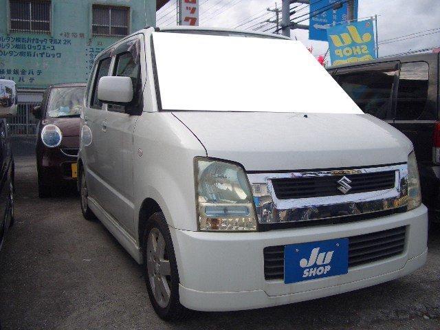 沖縄の中古車 スズキ ワゴンR 車両価格 14万円 リ済込 平成17年 16.5万km パールM
