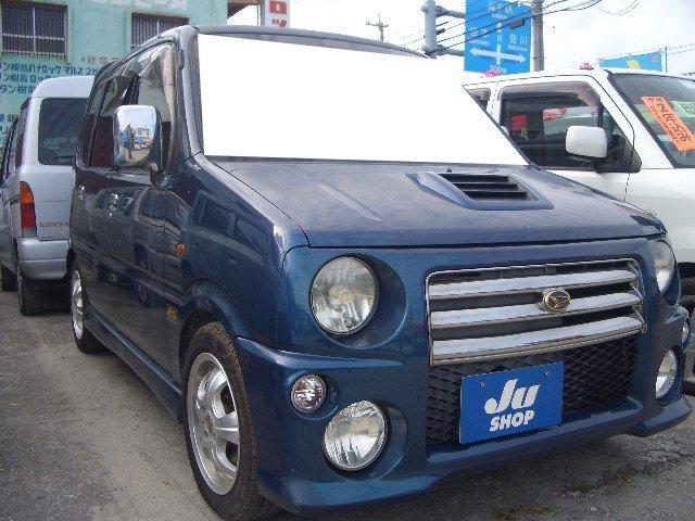 沖縄の中古車 ダイハツ ムーヴ 車両価格 14万円 リ済込 平成13年 13.3万km DグリーンM