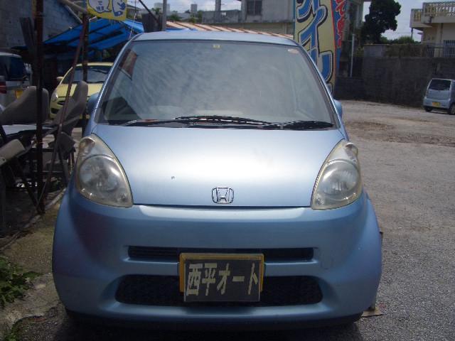 沖縄の中古車 ホンダ ライフ 車両価格 12万円 リ済込 2004(平成16)年 14.1万km ライトブルーM