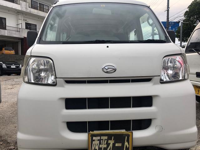 沖縄の中古車 ダイハツ ハイゼットカーゴ 車両価格 25万円 リ済込 2011(平成23)年 14.5万km ホワイト
