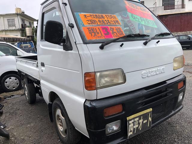 沖縄県の中古車ならキャリイトラック 4WD・切替式
