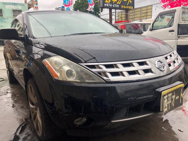 沖縄の中古車 日産 ムラーノ 車両価格 31万円 リ済込 2005(平成17)年 14.6万km DブラックM