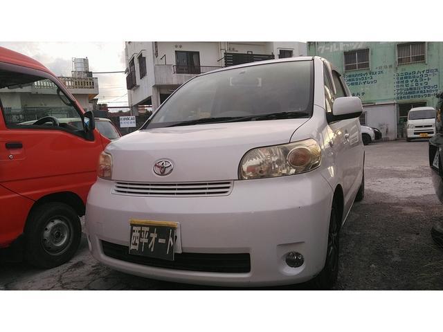 沖縄の中古車 トヨタ ポルテ 車両価格 17万円 リ済込 2006(平成18)年 13.0万km ホワイト