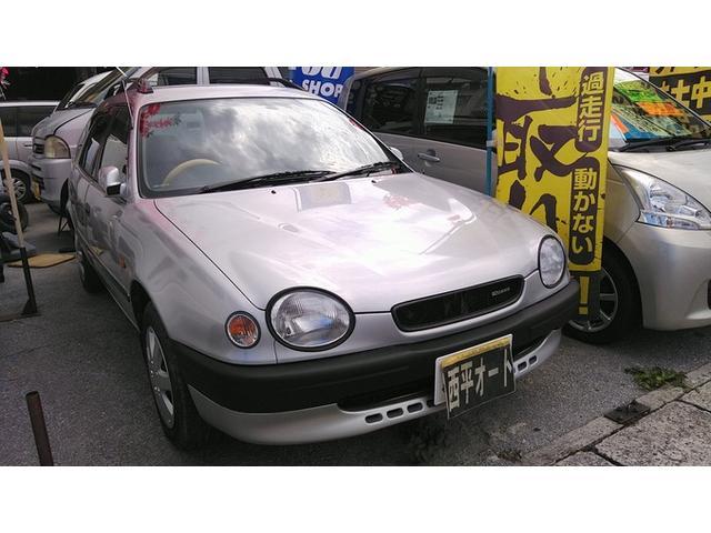沖縄の中古車 トヨタ スプリンターカリブ 車両価格 29万円 リ済込 1998(平成10)年 9.2万km シルバーM