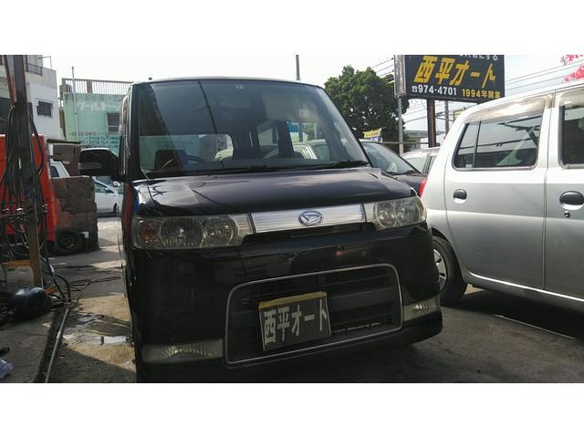 沖縄県の中古車ならタント カスタムRS