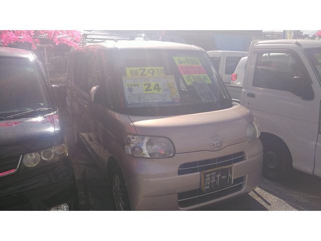 沖縄の中古車 ダイハツ タント 車両価格 24万円 リ済込 2008(平成20)年 13.5万km ピンクM