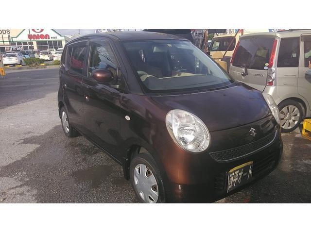 沖縄の中古車 スズキ MRワゴン 車両価格 14万円 リ済込 2006(平成18)年 8.7万km ブラウンM