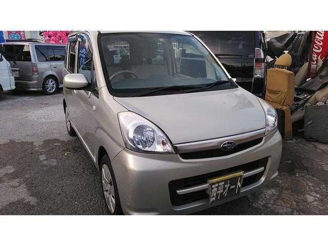 沖縄の中古車 スバル ステラ 車両価格 14万円 リ済込 2008(平成20)年 9.0万km ゴールドM