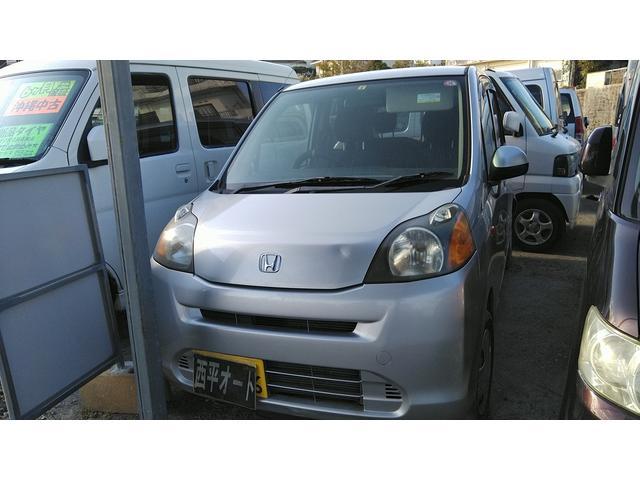 沖縄の中古車 ホンダ ライフ 車両価格 10万円 リ済込 2009(平成21)年 13.4万km シルバーM