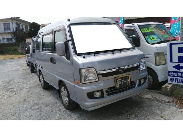 沖縄の中古車 スバル ディアスワゴン 車両価格 16万円 リ済込 2008(平成20)年 19.1万km シルバーM