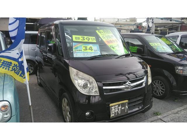沖縄の中古車 スズキ パレット 車両価格 28万円 リ済込 2008(平成20)年 14.2万km ダークパープルM