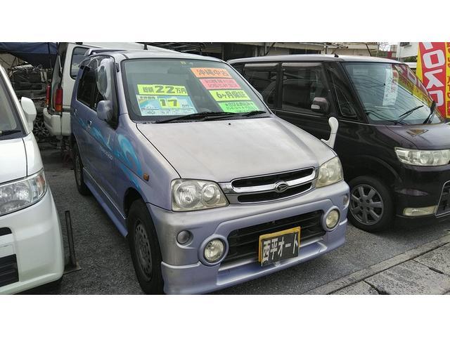 沖縄の中古車 ダイハツ テリオスキッド 車両価格 14万円 リ済込 2004(平成16)年 11.1万km ライトパープルM