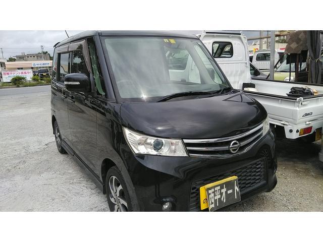 沖縄の中古車 日産 ルークス 車両価格 32万円 リ済込 2010(平成22)年 11.1万km ブラックM