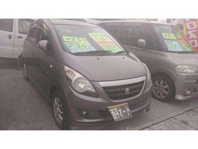 沖縄の中古車 スズキ セルボ 車両価格 17万円 リ済込 2008(平成20)年 9.4万km ライトパープルM