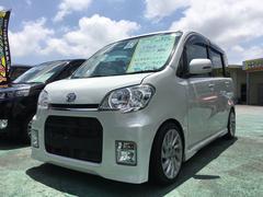 沖縄の中古車 ダイハツ タントエグゼ 車両価格 59万円 リ済込 平成23年 4.8万K パールホワイトIII