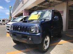 沖縄の中古車 スズキ ジムニー 車両価格 55万円 リ済込 平成19年 12.8万K 紺M
