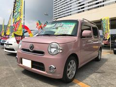 沖縄の中古車 ダイハツ ミラココア 車両価格 68万円 リ済込 平成25年 1.8万K ムースピンクパール