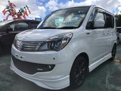 沖縄の中古車 スズキ ソリオ 車両価格 75万円 リ済込 平成25年 5.9万K パールホワイト