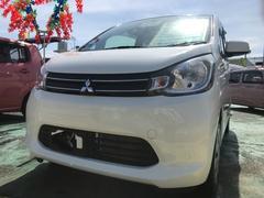 沖縄の中古車 三菱 eKワゴン 車両価格 55万円 リ済込 平成25年 4.6万K ホワイト