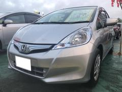 沖縄の中古車 ホンダ フィットハイブリッド 車両価格 74万円 リ済込 平成24年 1.0万K シルバーM