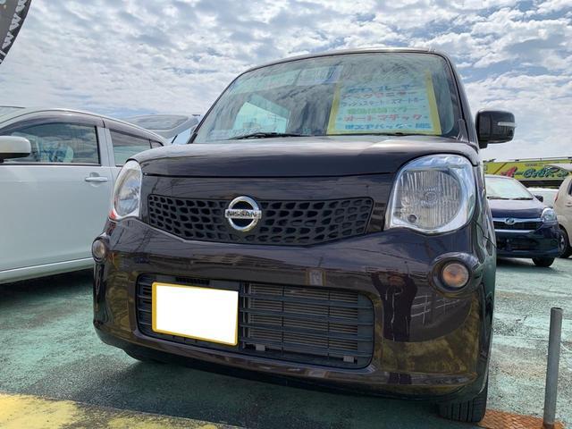 沖縄の中古車 日産 モコ 車両価格 64万円 リ済込 平成25年 3.3万km DブラウンM