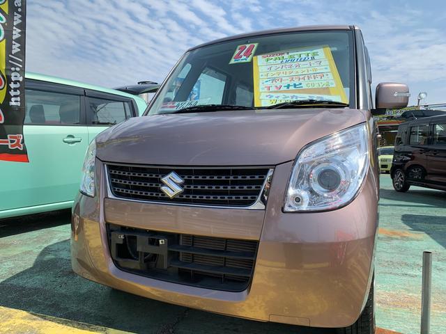 沖縄の中古車 スズキ パレット 車両価格 65万円 リ済込 平成24年 4.7万km ライトブラウンM