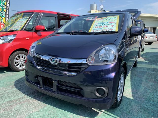 沖縄の中古車 ダイハツ ミライース 車両価格 69万円 リ済込 平成28年 4.3万km 紺M