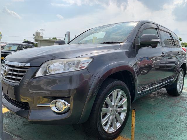 沖縄の中古車 トヨタ ヴァンガード 車両価格 119万円 リ済込 平成22年 6.4万km グレーM