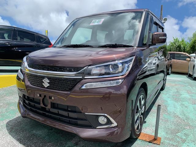 沖縄県の中古車ならソリオバンディット ハイブリッドMV レーダーブレーキサポート パワースライド