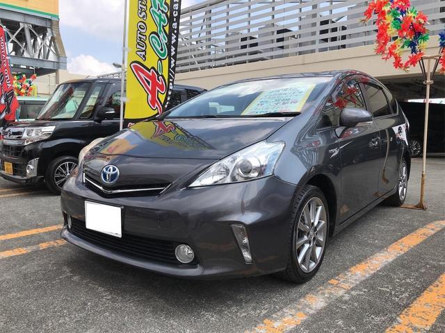 沖縄県の中古車ならプリウスアルファ S Bカメ ETC車載器 イモビライザー