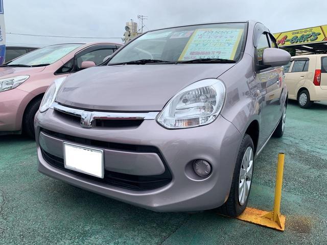 「トヨタ」「パッソ」「コンパクトカー」「沖縄県」の中古車
