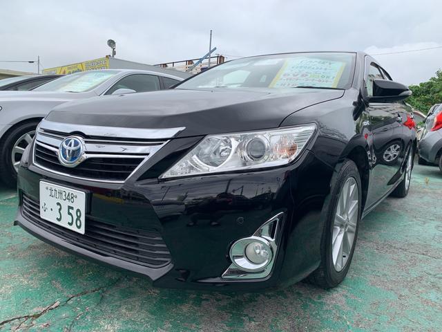 沖縄県の中古車ならカムリ ハイブリッド Gパッケージ クルコン パワーシート
