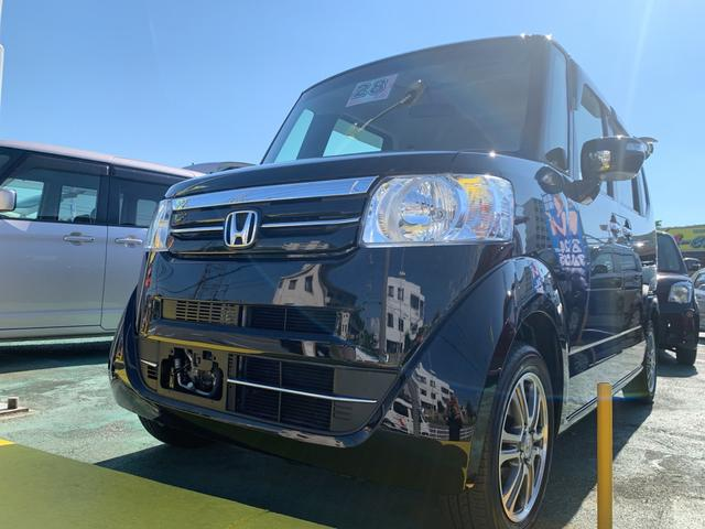 沖縄県の中古車ならN-BOX G・Lパッケージ アイドリングストップ パワースライド