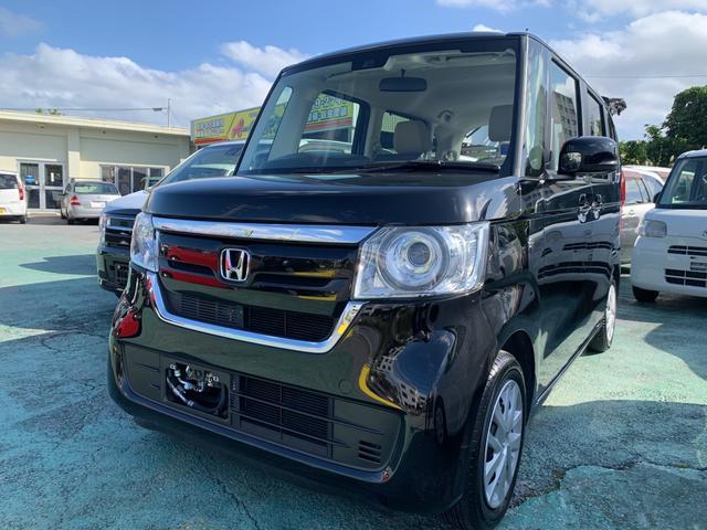 沖縄県の中古車ならN-BOX G・Lホンダセンシング LEDヘッドライト ETC パワスラ