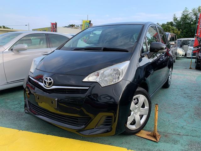トヨタ ラクティス G スマートキー プッシュスタート KENWOOD彩速ナビ・フルセグTV・Bluetoothオーディオ ステアリングリモコン オートエアコン ETC
