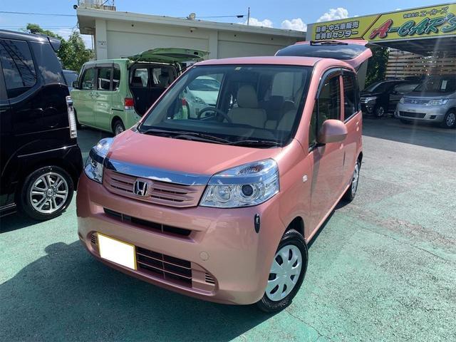 沖縄の中古車 ホンダ ライフ 車両価格 58万円 リ済込 2012(平成24)年 5.4万km ピンクM