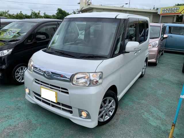 沖縄の中古車 ダイハツ タント 車両価格 78万円 リ済込 2013(平成25)年 8.6万km ホワイトM