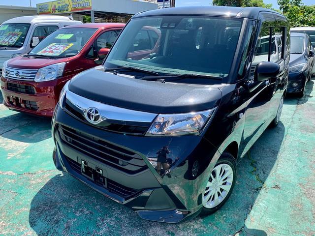 沖縄の中古車 トヨタ タンク 車両価格 119万円 リ済込 2019(令和1)年 1.1万km DブラックM
